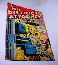 1957   No 58  MR. DISTRICT ATTORNEY  FEATURING