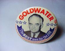 1964 GOLDWATER CAMPAIGN BUTTON