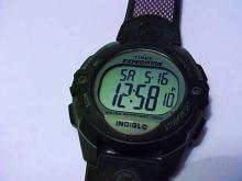 TIMEX EXPEDITION INDIGLO WATCH WORKS!! WATER RESISTANT 100M