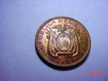 1926 ECUADOR CENTAVO