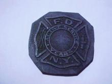 NEW YORK FIRE DEPT. BADGE DIE TRIAL