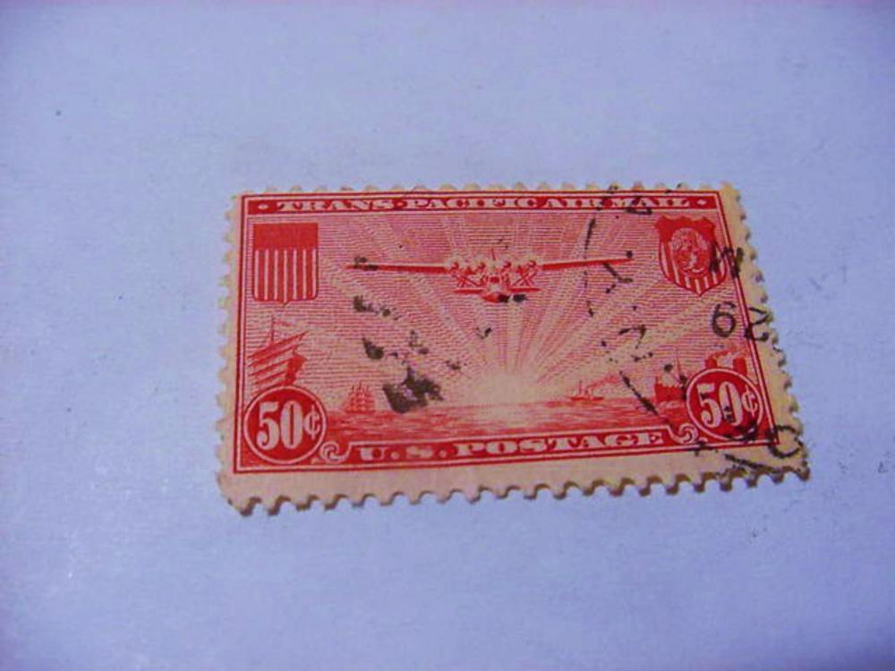 TRANS-PACIFIC AIRMAIL STAMP