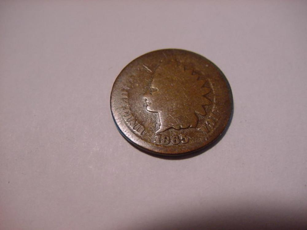 1865 INDIAN CENT
