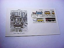 1983 USA STREETCARS FIRST DAY COVER