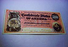 CONFEDERATE BANKNOTE COPY