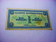 1944 AUSTRIA ALLIED MILITARY CURRENCY
