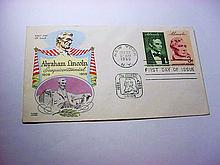 1959 ABRAHAM LINCOLN FIRST DAY COVER