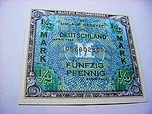 1944 GERMANY ALLIED MILITARY CURRENCY