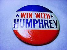 HUMPHREY CAMPAIGN BUTTON