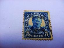 TEDDY ROOSEVELT CANAL ZONE STAMP