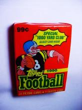 1990 FOOTBALL CARD PACK OF 34 CARDS
