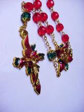 FANCY VINTAGE  ROSARY BEADS