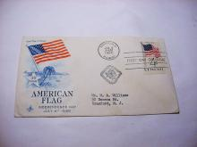1960 U.S. FLAG FIRST DAY COVER