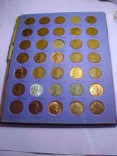 LINCOLN HEAD CENT COLLECTION FROM  1934 TO 1945 MISSING 1935-S  & 1938-S  LOT