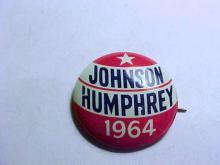 1964 JOHNSON CAMPAIGN BUTTON