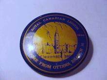 1988 ROYAL CANADIAN LEGION BUTTON