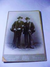 GERMAN HIKERS CABINET CARD
