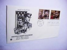 2000 DISTINGUISHED SOLDIERS FIRST DAY COVER