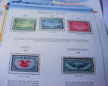 AIRMAIL STAMP LOT