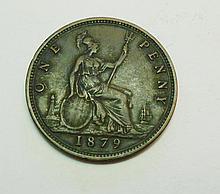 1879 BRITISH PENNY