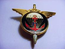 EARLY FRENCH PARATROOPERS BADGE