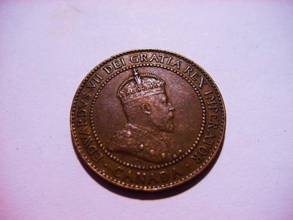 1909 CANADA LARGE CENT