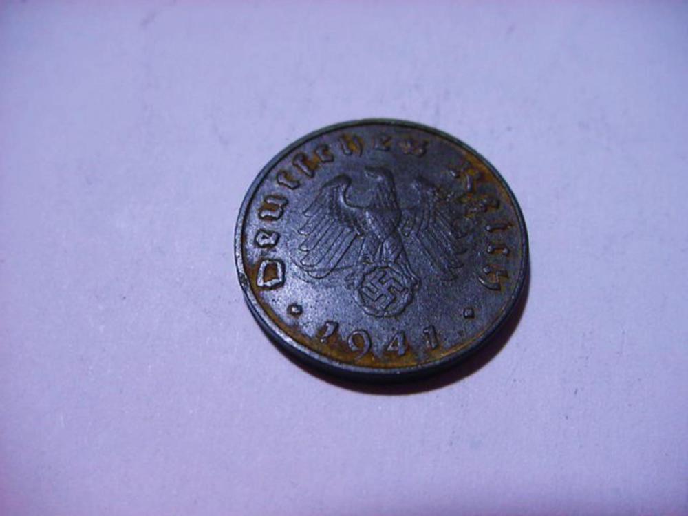 1941 GERMAN  COIN