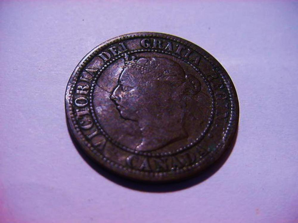 1890 CANADA LARGE CENT