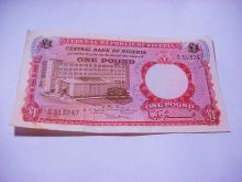 NIGERIA POUND BANKNOTE