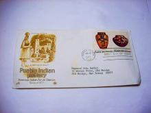 1977 PUEBLO INDIAN POTTERY FIRST DAY COVER