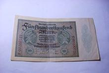 1923 GERMANY BANKNOTE