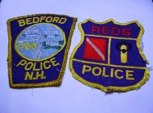 [2] VINTAGE POLICE PATCHES