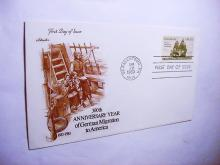 1983 GERMAN MIGRATION FIRST DAY COVER