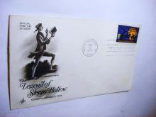 1974 SLEEPY HOLLOW FIRST DAY COVER