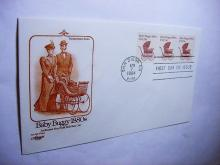 1984 BABY BUGGY FIRST DAY COVER
