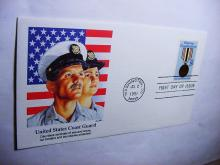 1991 COAST GUARD FIRST DAY COVER