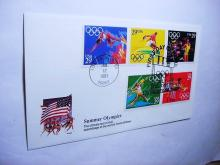 1991 LOS ANGELES OLYMPICS FIRST DAY COVER