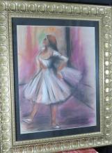 Edgar Degas - Pastel on Paper - COA 18
