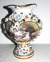 Meissen Flower Vase