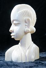 19th Century African  Ivory Sculpture H-5.5