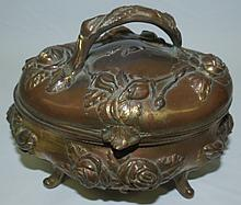 Art Nouveau Jewelry Box  4