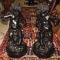 Magnificent Pair of Bronze Cherubs Sig C.Clodion