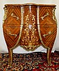 Commode with Marble Top French Style