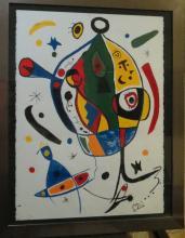 Joan Miro - Watercolor on paper - 30