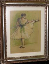 Edgar Degas - Pastel on paper 8