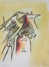 Wilfredo Lam - Serigraph - Signed and stamped 25.5