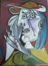 Pablo Picasso - Colored pencil on paper - 12