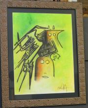 Wilfredo Lam - Mixed media on paper - 21