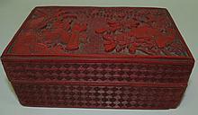 China Lacquer Box c.1870
