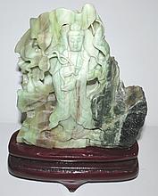 Jade Sculpture of Quin Jin